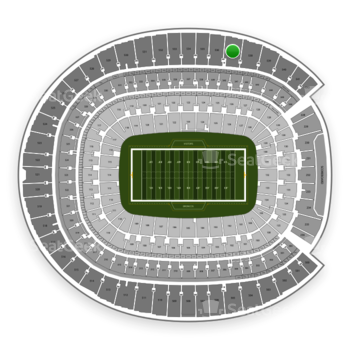 Denver Broncos at Sports Authority Field at Mile High Section 537 View