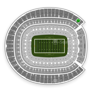 Denver Broncos at Sports Authority Field at Mile High Section 541 View