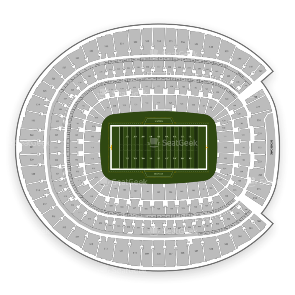 Denver Broncos Seating Chart