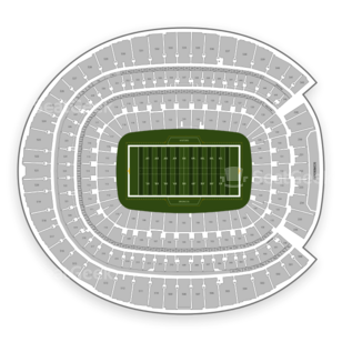 Broncos Stadium at Mile High Seating Chart NCAA Football