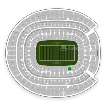 Denver Broncos at Sports Authority Field at Mile High Section 102 View