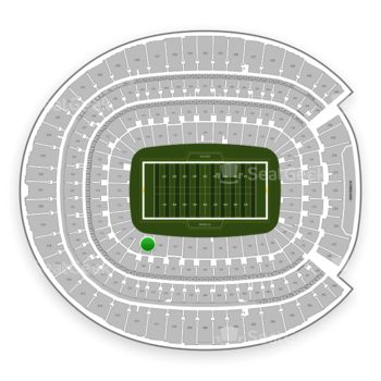 Denver Broncos at Sports Authority Field at Mile High Section 109 View