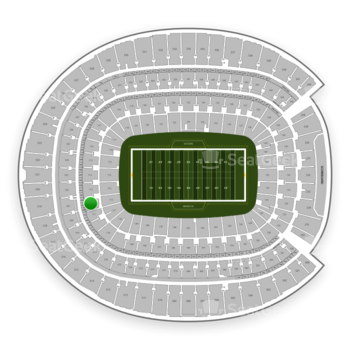 Denver Broncos at Sports Authority Field at Mile High Section 112 View