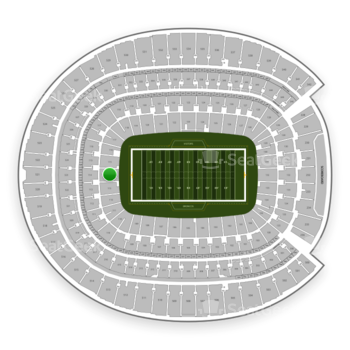 Denver Broncos at Sports Authority Field at Mile High Section 114 View