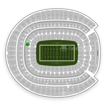Denver Broncos at Sports Authority Field at Mile High Section 116 View