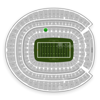 Denver Broncos at Sports Authority Field at Mile High Section 121 View