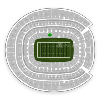 Denver Broncos at Sports Authority Field at Mile High Section 122 View