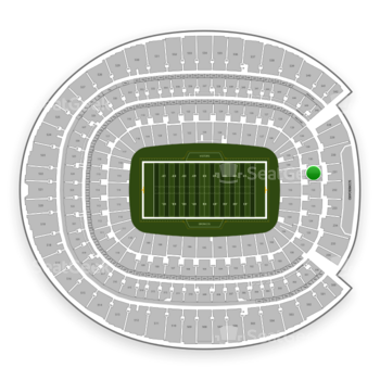 Denver Broncos at Sports Authority Field at Mile High Section 131 View