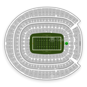 Denver Broncos at Sports Authority Field at Mile High Section 132 View