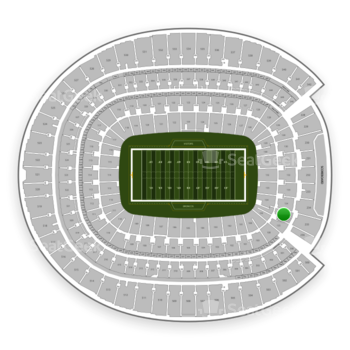 Denver Broncos at Sports Authority Field at Mile High Section 135 View