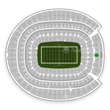 Denver Broncos at Sports Authority Field at Mile High Section 232 View