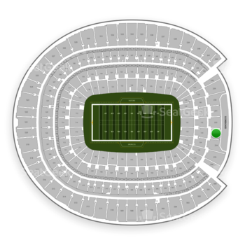 Denver Broncos at Sports Authority Field at Mile High Section 233 View