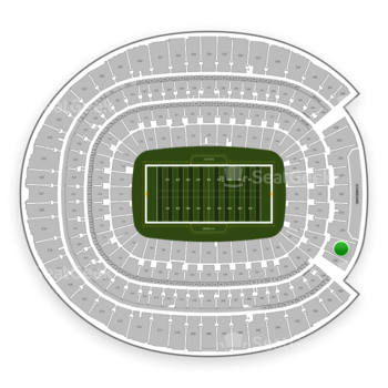 Denver Broncos at Sports Authority Field at Mile High Section 235 View
