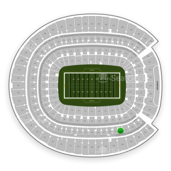 Denver Broncos at Sports Authority Field at Mile High Section 304 View