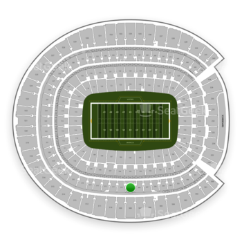 Denver Broncos at Sports Authority Field at Mile High Section 309 View