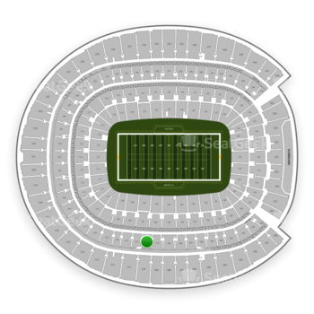 Denver Broncos at Sports Authority Field at Mile High Section 311 View