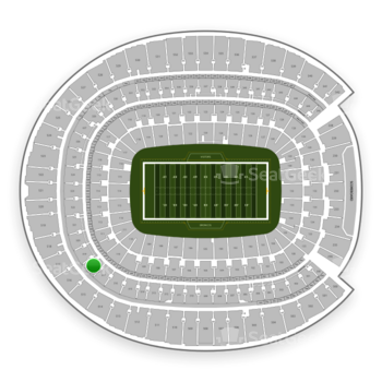 Denver Broncos at Sports Authority Field at Mile High Section 318 View