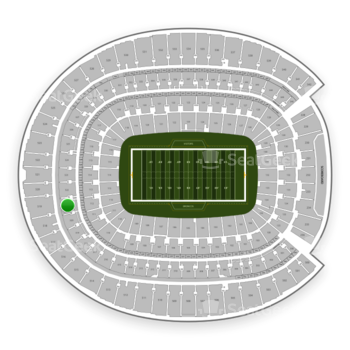 Denver Broncos at Sports Authority Field at Mile High Section 321 View