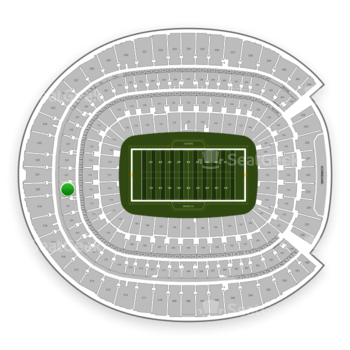 Denver Broncos at Sports Authority Field at Mile High Section 322 View