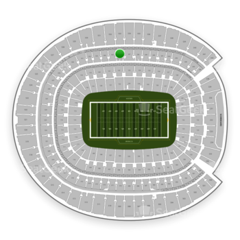 Denver Broncos at Sports Authority Field at Mile High Section 336 View