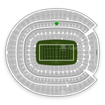 Denver Broncos at Sports Authority Field at Mile High Section 337 View