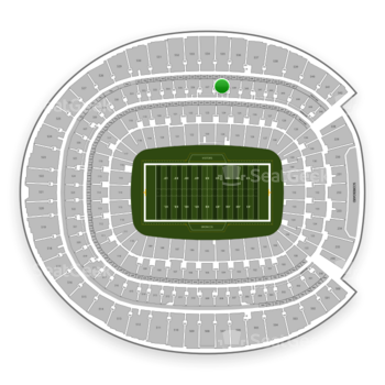 Denver Broncos at Sports Authority Field at Mile High Section 338 View