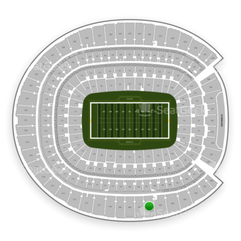 Denver Broncos at Sports Authority Field at Mile High Section 506 View