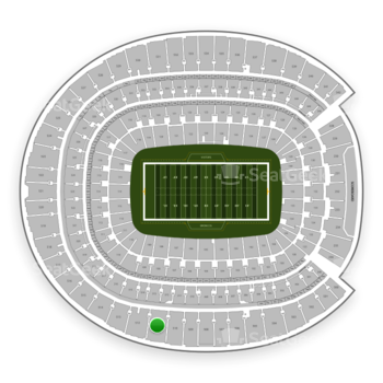 Denver Broncos at Sports Authority Field at Mile High Section 511 View