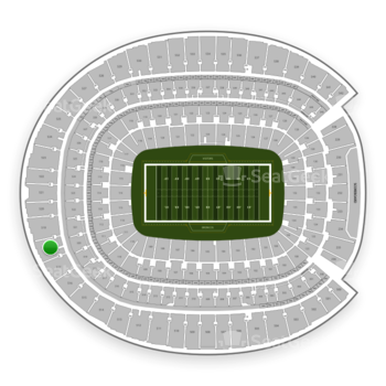 Denver Broncos at Sports Authority Field at Mile High Section 518 View