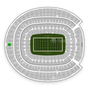Denver Broncos at Sports Authority Field at Mile High Section 521 View