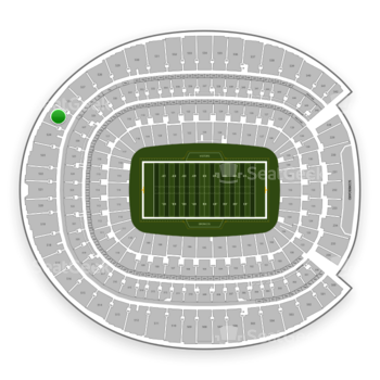 Denver Broncos at Sports Authority Field at Mile High Section 525 View