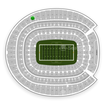 Denver Broncos at Sports Authority Field at Mile High Section 529 View
