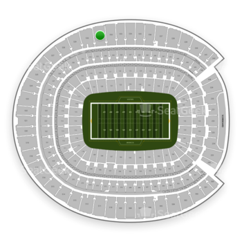 Denver Broncos at Sports Authority Field at Mile High Section 531 View