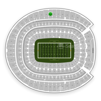 Denver Broncos at Sports Authority Field at Mile High Section 533 View
