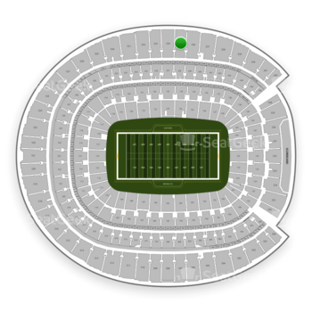 Denver Broncos at Sports Authority Field at Mile High Section 535 View