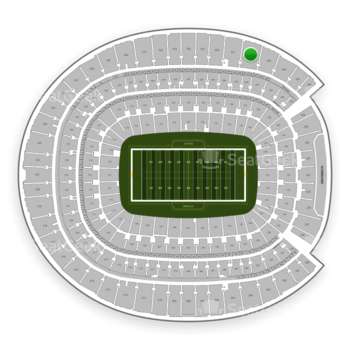 Denver Broncos at Sports Authority Field at Mile High Section 538 View