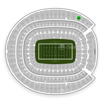 Denver Broncos at Sports Authority Field at Mile High Section 539 View