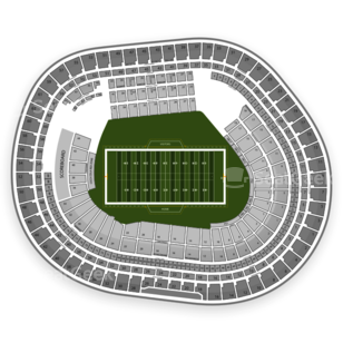 Candlestick Park Seating Chart NCAA Football