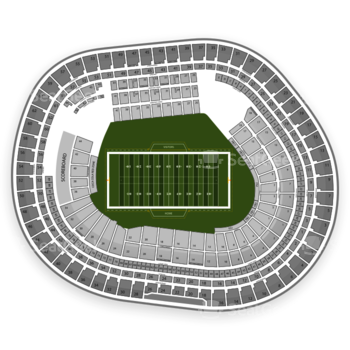 San Francisco 49ers at Candlestick Park 27 Lb View