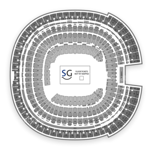 Qualcomm Stadium Seating Chart Concert