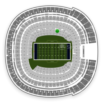 Los Angeles Chargers at SDCCU Stadium Field 4 View