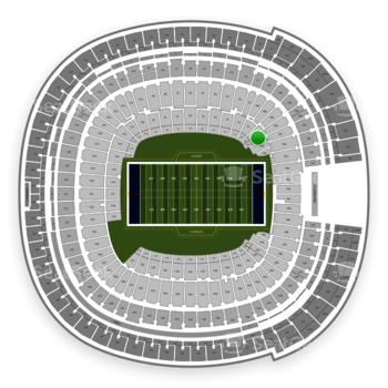 Los Angeles Chargers at SDCCU Stadium Field 58 View