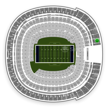 Los Angeles Chargers at SDCCU Stadium View 55 View