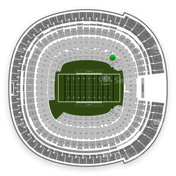 Holiday Bowl at SDCCU Stadium Field 1 View