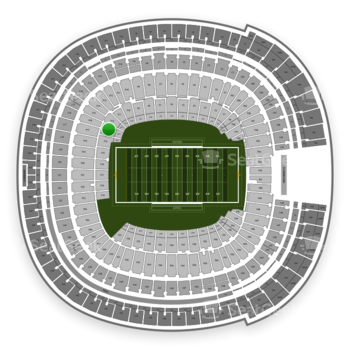 Holiday Bowl at SDCCU Stadium Field 13 View
