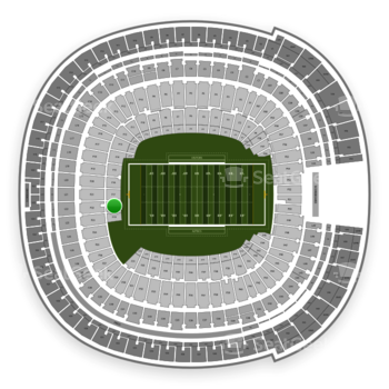 Holiday Bowl at SDCCU Stadium Field 18 View