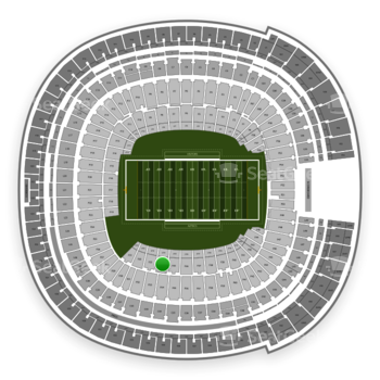 Holiday Bowl at SDCCU Stadium Field 34 View