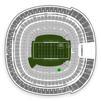 Holiday Bowl at SDCCU Stadium Field 39 View