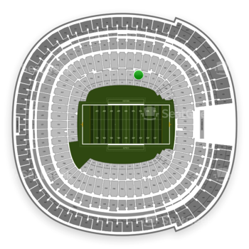 Holiday Bowl at SDCCU Stadium Field 4 View