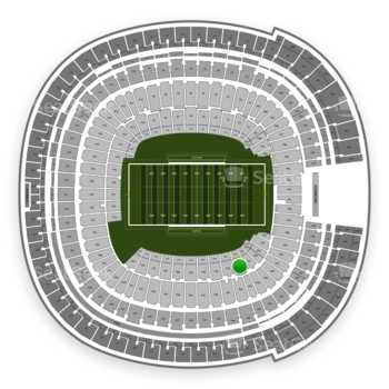 Holiday Bowl at SDCCU Stadium Field 40 View